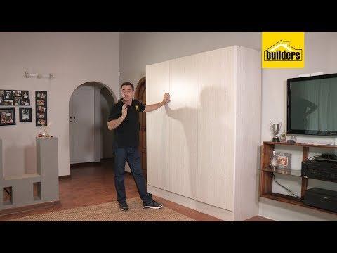 Wardrobe  Flatpack -   3 Door  - How to assemble  - 18792 605037 605034 662564
