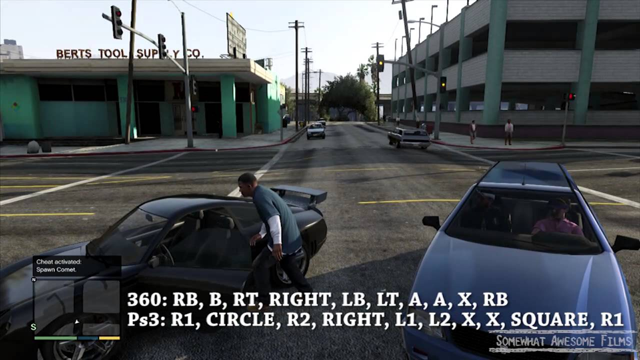 Exceptional GTA V Spawn Comet Sports Car Cheat Code