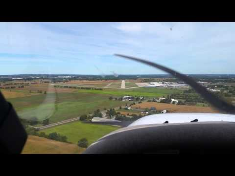 Landing a Cessna 172 in Brantford, Ontario