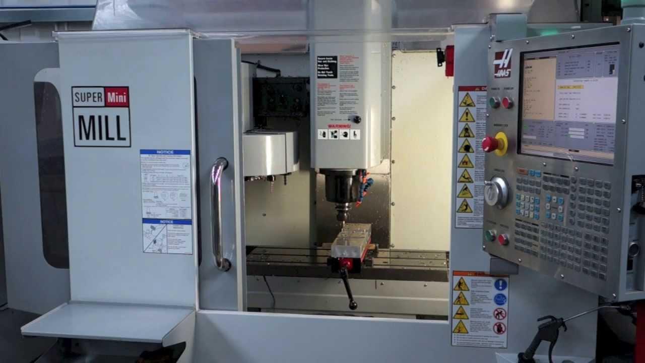 Haas Super Mini Mill  2008