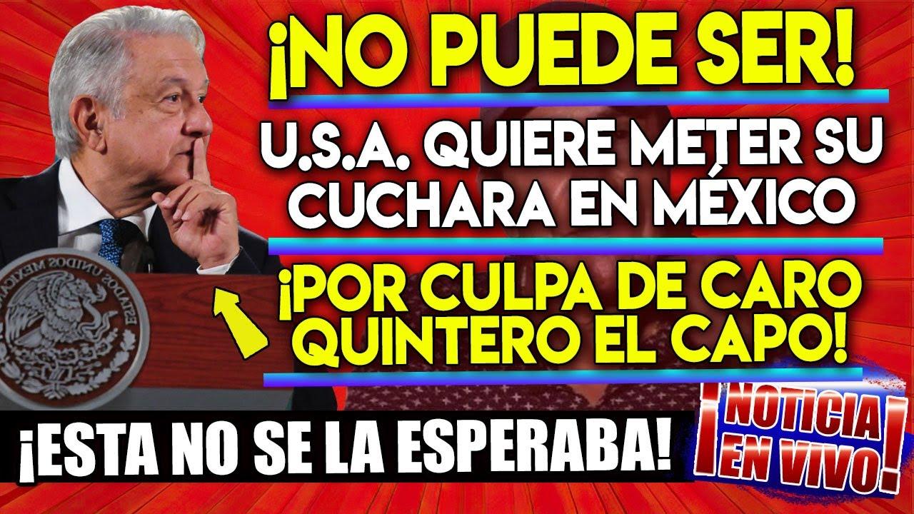 ¡ESCANDALO INTERNACIONAL! JUEZ DE U.S.A. ORDENA A AMLO DEVOLVER MILLONES DE PODEROSO CAPO!