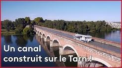 Tarn-et-Garonne : le pont-canal du Cacor