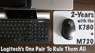 2-Years with the Logitech K780 and M720: Masters of MULTI-DEVICE Control