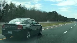 "North Carolina State Highway Patrol ""SHP-1268"" Speeding - Tailgating on I-40"