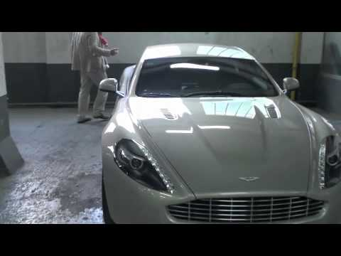 Aston Martin Rapide (part I) : familly car ?