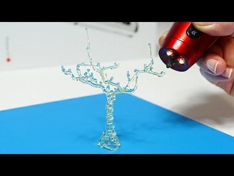 DIY 3D СТЕКЛЯННОЕ ДЕРЕВО! 3D РУЧКА | 3D PEN DIY