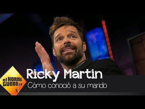 """Ricky Martin: """"Conocí a mi marido a través de las redes sociales"""" - El Hormiguero 3.0"""