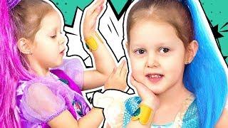 ШИММЕР И ШАЙН Поссорились Поменялись куклами Шайн потеряла Шиммер Видео для детей Shimmer and Shine