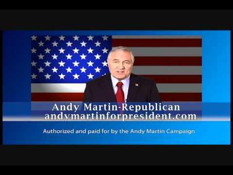 Andy Martin 2012 Election Ad: Obama