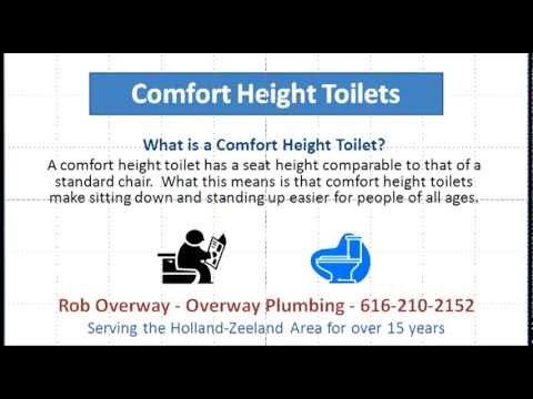 comfort height toilets holland mi