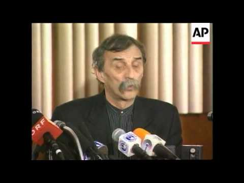 YUGOSLAVIA: BELGRADE: ELECTIONS: SPS PRESS CONFERENCE