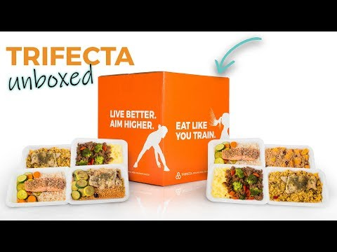 Trifecta Meal Delivery Unboxing