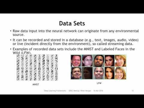 "ODSC London Meet-up   Peter Morgan - ""Deep Learning Frameworks"""