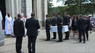 Funeral held for abducted French schoolgirl Maëlys
