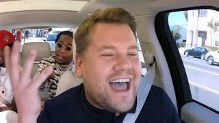 Carpool Karaoke with Migos on Dance with Somebody