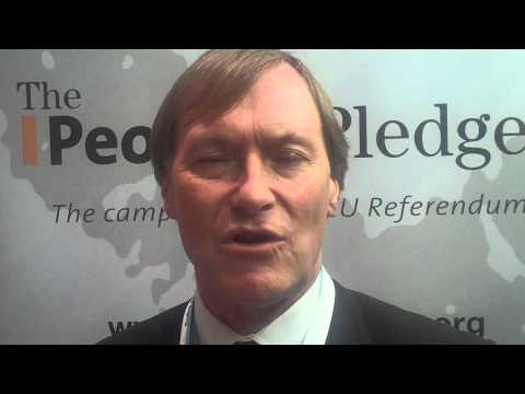 David Amess MP Signs the People