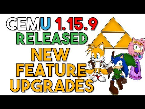 Cemu 1 15 9 Released | New Graphical Fixes, Softlock/Crash fixes