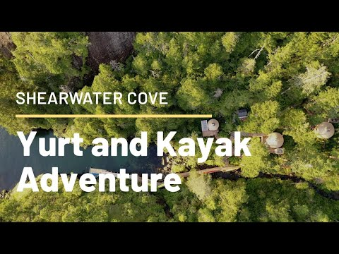 Shearwater Cove Yurt | Resurrection Bay Yurt | Alaskan Vacation | Kayak Resurrection Bay Alaska|Yurt