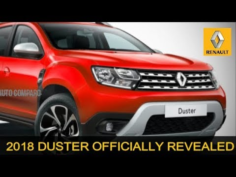 2018 RENAULT DUSTER OFFICIALLY REVEALED - MORE PREMIUM, MORE STYLISH
