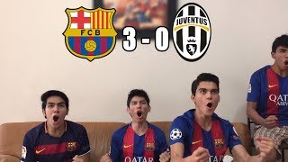 Barcelona Vs Juventus 3-0 |Champions League 2017/18| (REACCIONES DEL HINCHA)