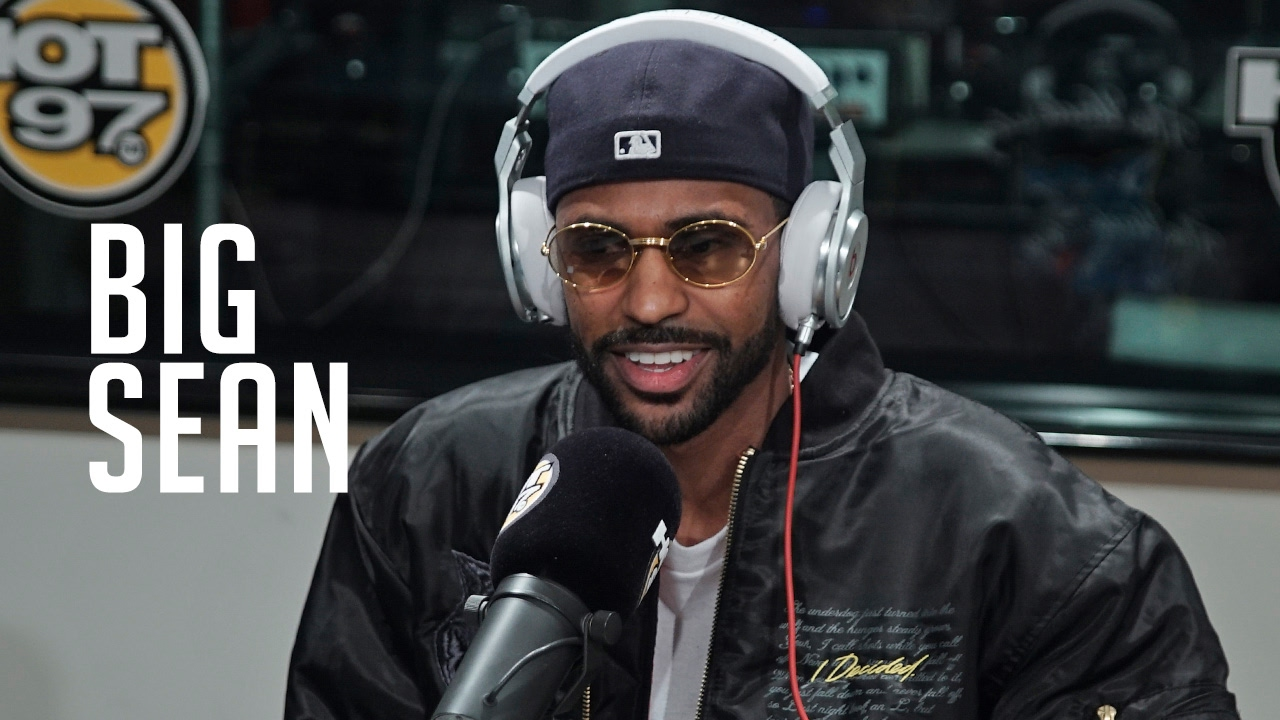 Big Sean Freestyles on Flex
