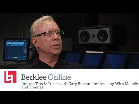 Jazz Improv Tips & Tricks With Gary Burton: Improvising With Melody and Themes