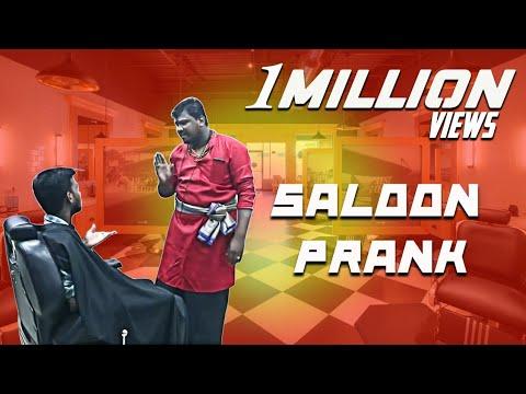 Saloon Prank Part  2   Prankster Rahul   PSR 2019