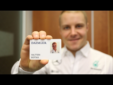 Valtteri visits Mercedes-Benz HQ in Stuttgart!