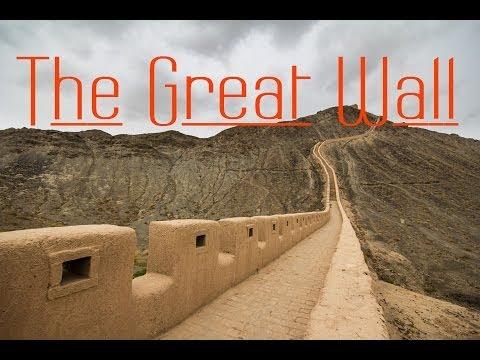 The Great Wall of China in Jiayuguan, China