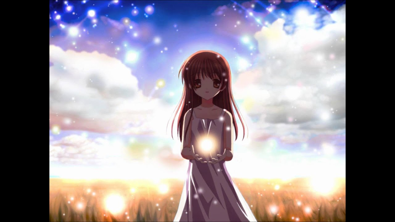 Clannad ost fantasy illusion youtube - Cartoon girl images hd ...
