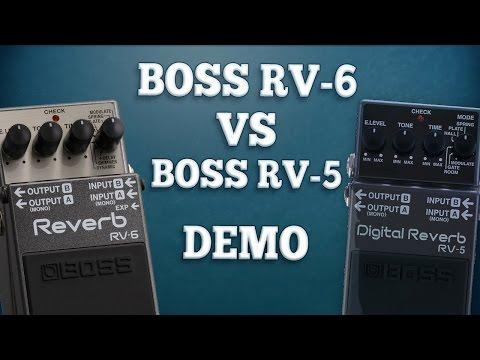 Boss RV-6 VS Boss RV-5 (Comparison.)