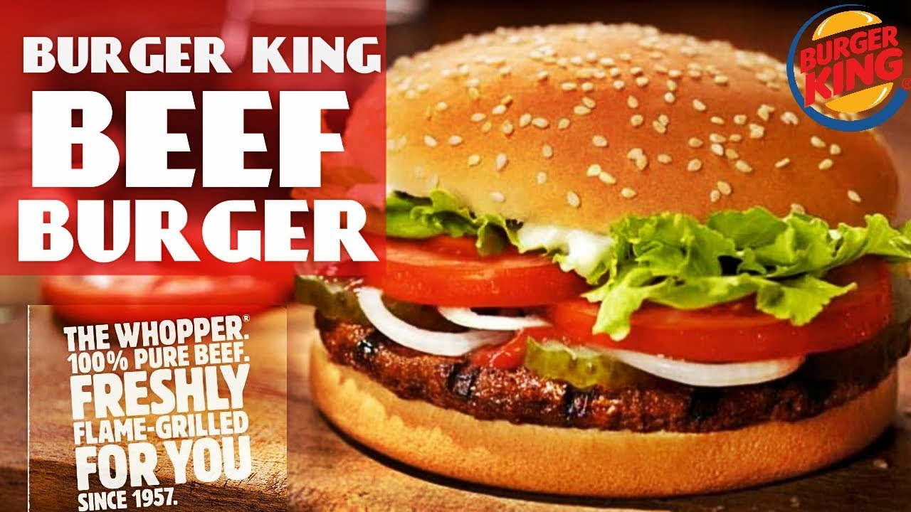 Beef Burger Recipe By Chef Food | How To Make Beef Burger By Burger King