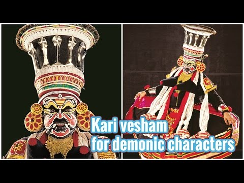 Kari - Kathakali Make-up