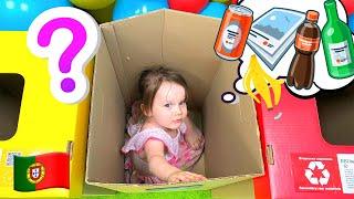 Música Infantil | Canção  para Crianças Limpo Lixo Até - Five Kids