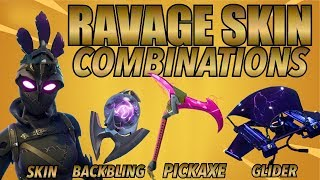 """Ravage"" SKIN BEST BACKBLING - SKIN COMBOS! (Peau légendaire) (Fortnite Battle Royale) (2018)"