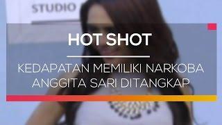 Kedapatan Memiliki Narkoba Anggita Sari Ditangkap - Hot Shot