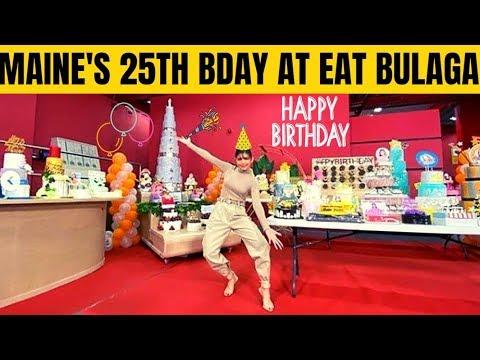 MAINE MENDOZA, MAY SPECIAL NA MGA GANAP SA KANYANG 25TH BIRTHDAY SA EAT BULAGA KANINA