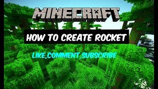 Cara Membuat Rocket! - Minecraft Tutorial #2