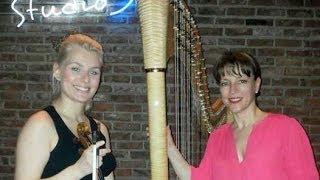O Canto do Cisne Negro - Heitor Villa-Lobos / Carolina Feuerharmel-violin Angela Madjarova harp