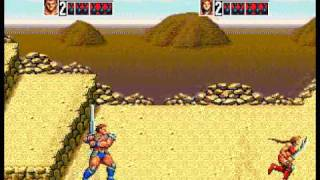 Golden Axe III - Double Magic and Tag Attacks
