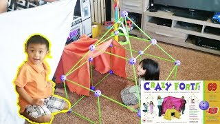 CRAZY FORTs review by Review Toys review by Phoebe and Rawson