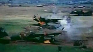 戦闘機P 51 ガンカメラ 東京近郊の飛行場など機銃掃射