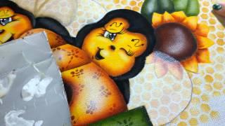 Aprenda a pintar asas de abelha