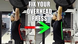 What EVERYONE Gets Wrong With The Overhead Press