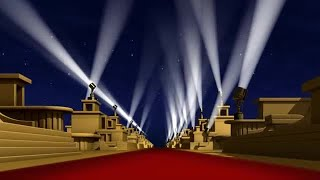Red Carpet Background Stock Motion Graphics
