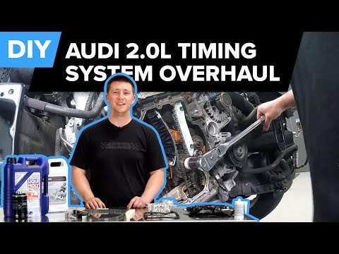 Audi Timing Chain & Timing System Replacement DIY (Audi 2.0T CAEB, CPMA, CPMB, CHJA Engines)