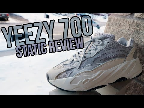 f0aa164704609 ADIDAS YEEZY BOOST 700 V2 STATIC unboxing overview