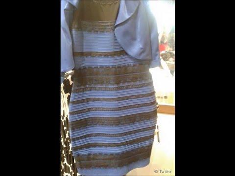 La robe bleue noire