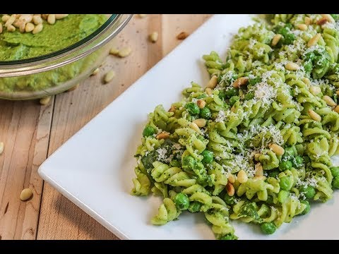 Creamy White Bean Pesto Pasta