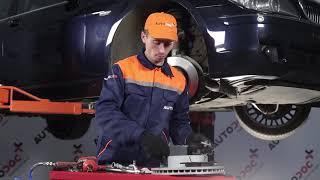 Как да сменим Предни спирачни дискове, Предни спирачни накладки наBMW 7 E65 [Инструкция]